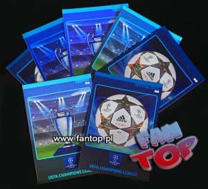 TROPHY & OFFICIAL BALL - cards - Champions League 2014 2015 Panini ADRENALYN XL