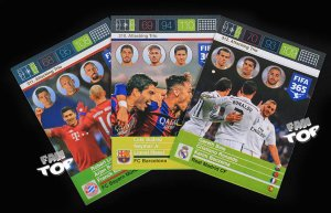 FIFA 365 2016 -  3 cards set  ATTACKING TRIO