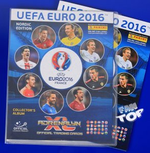 2016 EURO - Nordic ALBUM + Game Board