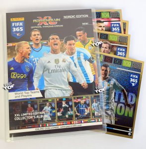 ALBUM Binder  XXL Limited Edition -  FIFA 365  2016