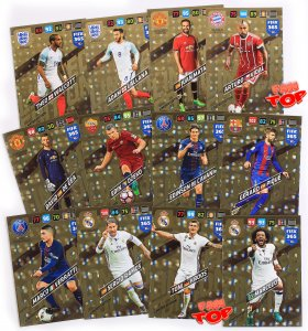 12  cards set LIMITED EDITION  FIFA 365 2018