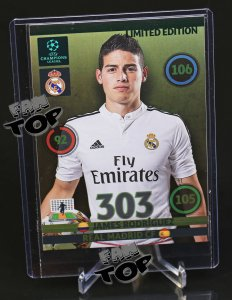 XXL Limited Edition - James RODRIGUEZ - Champions League 14/15