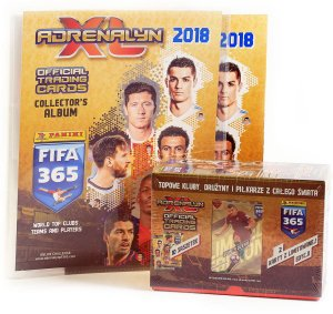 ALBUM + GIFT BOX  10 + 2 limited - FIFA 365 2018