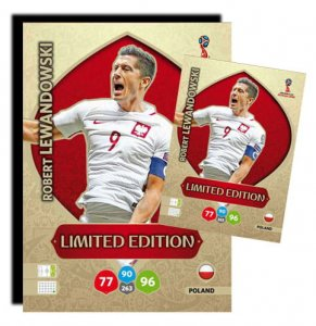 LEWANDOWSKI - XXL Limited  - WORLD CUP Russia 2018