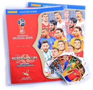 ALBUM + 60 cards + 1 limited to select - 2018 World Cup Russia