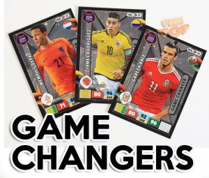GAME CHANGER cards select- ROAD to WORLD CUP Russia 2018