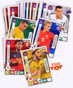 RISING STARS  cards select - ROAD to WORLD CUP Russia2018