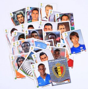30 stickers set - WORLD CUP BRAZIL 2014