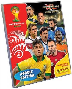 ALBUM  Nordic Edition + 30 cards  -  FIFA BRASIL WORLD CUP 2014