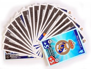 2016/17 WINNERS Real Madrid - cards select - 2017 /2018 Champions League  TOPPS