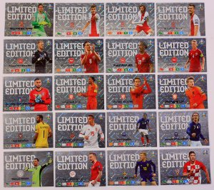 21 cards SET -   Limited EURO 2020