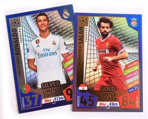 LIMITED EDITION - cards select - 2017 /2018 Champions League  TOPPS