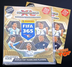 2017 FIFA - Nordic - ALBUM + Game Board + poster